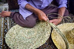 Mat weaving in Iran's Golestan