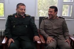 سردار کارگر با رئیس سازمان بسیج دیدار و گفتگو کرد