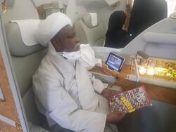 Nijerya İslami Hareketi lideri Zakzaki Hindistan'da