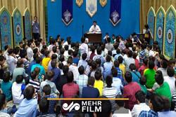 فیلمی از حال و هوای کلاس مداحی میثم مطیعی