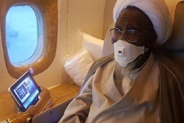 Nijerya İslami Hareketi lideri Zakzaki tedavi için Hindistan'a gitti