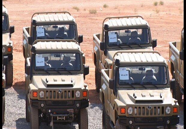 خودروی تاکتیکی ارس ۲ تحویل نیروهای مسلح شد/رونمایی از نفربر «رعد»