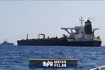 فیلمی از خارج شدن نفتکش «آدریان دریا» از تنگه جبل الطارق