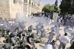 بیت المقدس میں اسرائیلی پولیس کی فائرنگ سے 10 فلسطینی زخمی