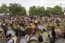 """مهرجان """"الدف صوت الرحمة"""" الدولي في سنندج /صور"""
