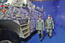 Armored, tactical vehicles unveiled