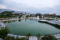 Tehran's new artificial lake