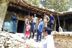 تخریب و آوار برداری منازل آسیب دیده شهرستان بویراحمد