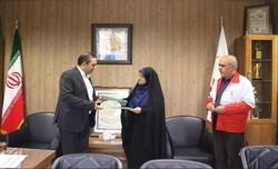 یک موسسه خیریه و جمعیت هلال احمر قزوین تفاهم نامه امضا کردند