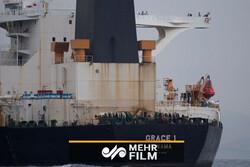 """ایرانی تیل بردار کشتی """" گریس 1"""" کے اندر کی تصاویر"""