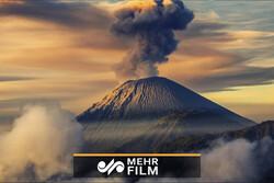 Meksika'daki Colima Yanardağı böyle patladı!