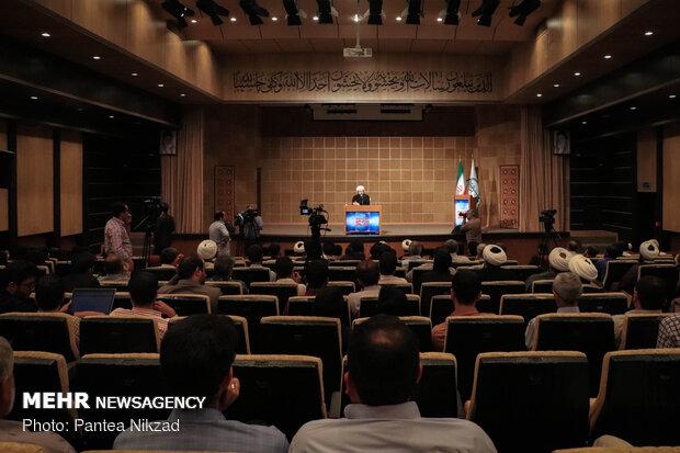 سفر حجت الاسلام محمد قمی رئیس سازمان تبلیغات اسلامی به استان چهار محال و بختیاری