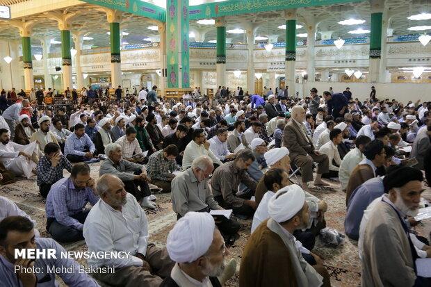 Commemorating late Afghan cleric Ayatollah Mohseni in Qom