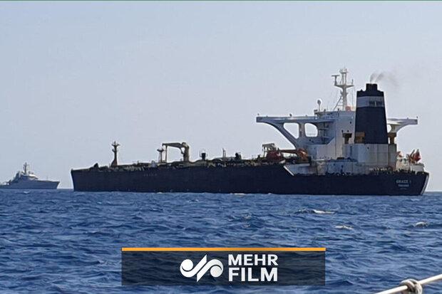 ایران کی تیل بردار کشتی عنقریب آزاد ہوجائےگی