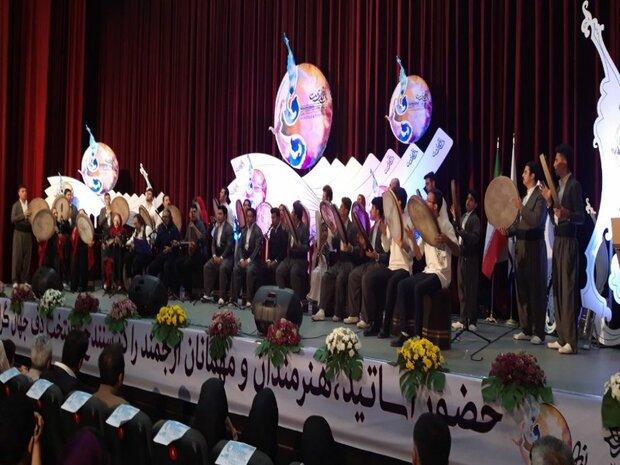 نهمین جشنواره بین المللی دف نوای رحمت آغاز شد
