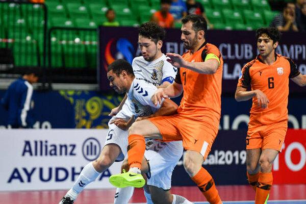 Iran's Mes Sungun advances to final of 2019 AFC Futsal Club C'ship