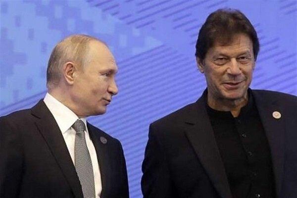 پاکستان کے وزير اعظم اور روس کے صدر کی ٹیلیفون پر گفتگو