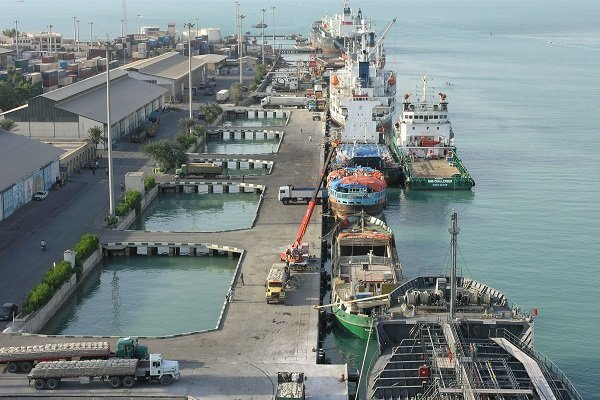 Container terminal pier of Negin Island ready to be inaugurated