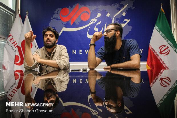 گفتگو با محمد حسین حیدری و مهدی مطهر در خبرگزاری مهر