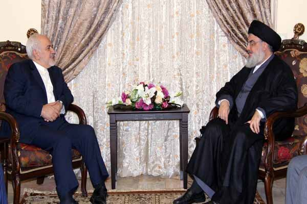 Hezbollah chief sends letter to FM Zarif