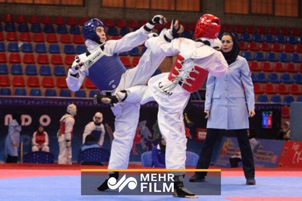 کسب مدال طلا تکواندو برای دختران ایران