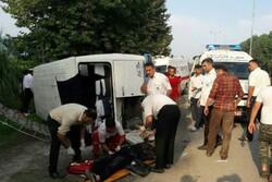 پوشش امدادی به بیش از ۳۰۰۰ حادثه دیده طی ۵ ماهه در گلستان