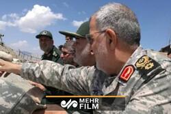 بازدید فرمانده سپاه از مرزهای آذربایجان غربی
