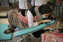 اردوی جهادی تیم پزشکی در روستای  حصارچه جرگلان