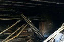 آتش سوزی در پارکینگ مسکن مهر «مهرگان» گرگان اطفاء شد