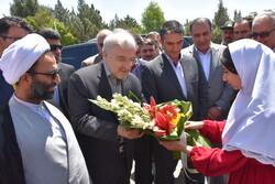 ایرانی وزير صحت کا صوبہ مرکزی کا دورہ