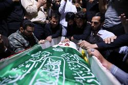 شہید مجید فتحی کے پیکر پاک کو الوداع کیا گيا