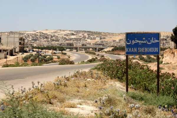 نیروهای ارتش سوریه در ۴ کیلومتری شهر راهبردی خان شیخون قرار دارند