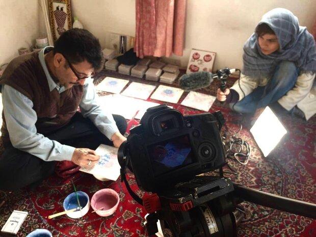 فیلم «کاشی هفت رنگ» مکتب شیراز ساخته شد