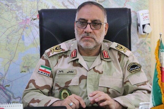 تشییع شهید مرزبانی خوزستان امروز/ حال عمومی مرزبان مجروح خوب است