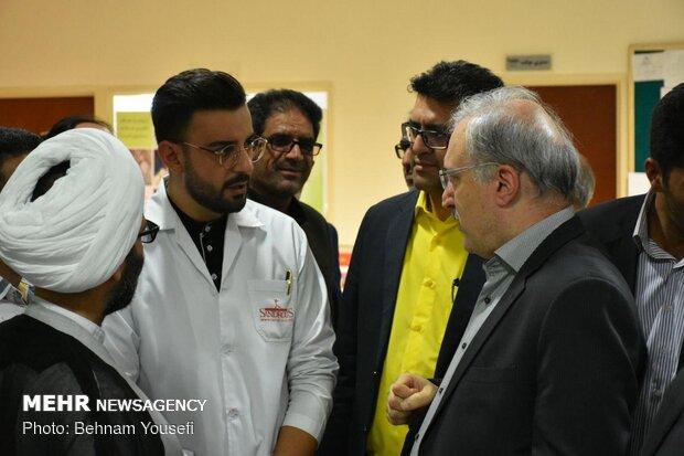 سفر وزیر بهداشت به استان مرکزی
