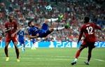 UEFA Süper Kupa final maçından kareler