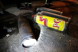 ۷۰ سیلندر گاز مایع در یک مرکز غیرمجاز منفجر شد