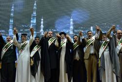 إختتام حفل تكريم القائمين باعمال أربعينية الإمام الحسين (ع) /صور