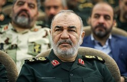 Northwestern mountaintops under full control of IRGC: Salami