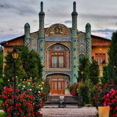 A view of Mofakham historical-cultural complex, one of major tourist destinations in Bojnurd, the capital of Iran's North Khorasan province.