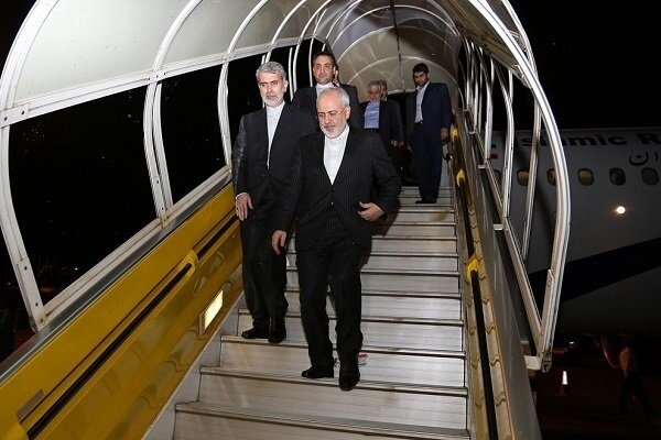 Iran's Zarif to depart for Europe on Sun.