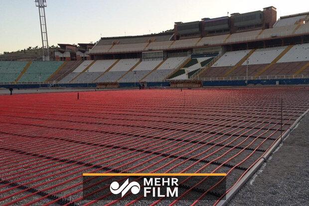 آمادهسازی ورزشگاه آزادی و ورزشگاه یادگار امام تبریز