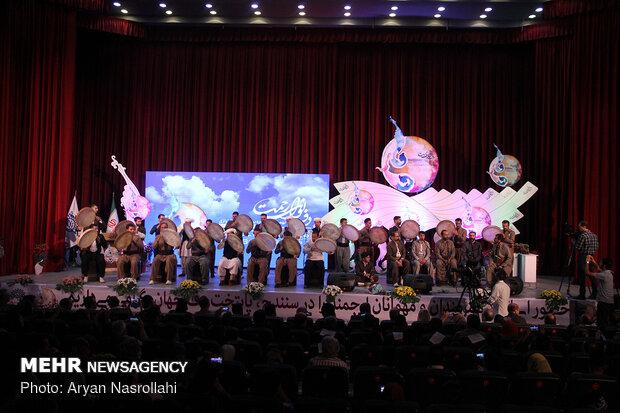 Closing ceremony of 9th Intl. Daf Festival