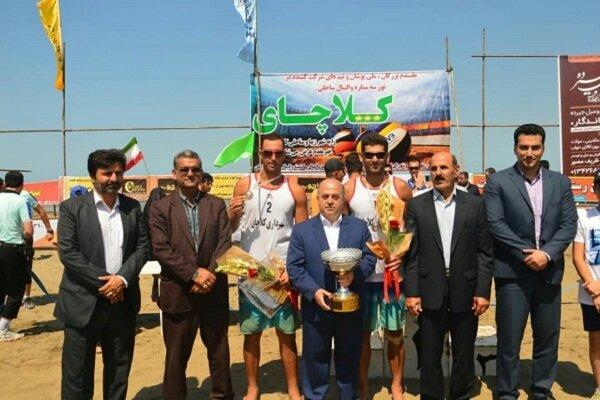 شهرداری کلاچای نائب قهرمان مسابقات قهرمانی والیبال ساحلی کشور شد