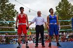 İranlı boksörler Azerbaycanlı rakiplerini yendi