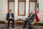 معاون وزیر خارجه ژاپن با ظریف دیدار کرد