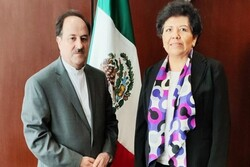 Iranian envoy holds talks with Mexico's Foreign Ministry official