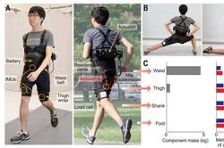 شلوارک رباتیک برای راحت تر دویدن در مسافت های طولانی