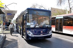 Tehran bus fleet delivers 165 million rides within 4 months