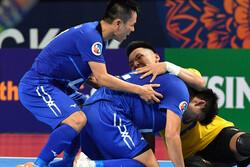 تیم فوتسال تایسوننام ویتنام در جام باشگاههای آسیا سوم شد